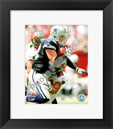 Framed Jason Witten 2009 Action Print