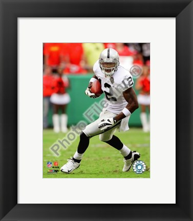 Framed Darrius Heyward-Bey 2009 Action Print