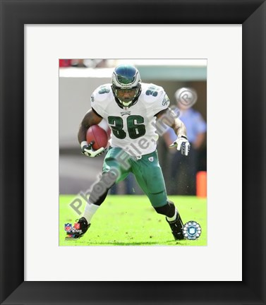 Framed Brian Westbrook 2009 Action Print