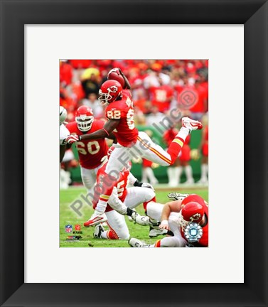 Framed Dwayne Bowe 2009 Action Print