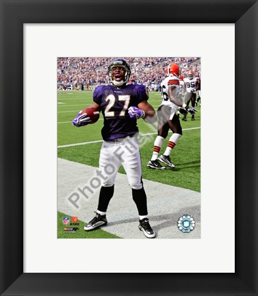 Framed Ray Rice 2009 Celebration Print