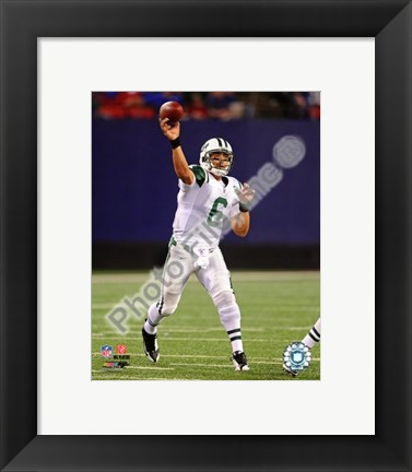 Framed Mark Sanchez 2009 Action Print