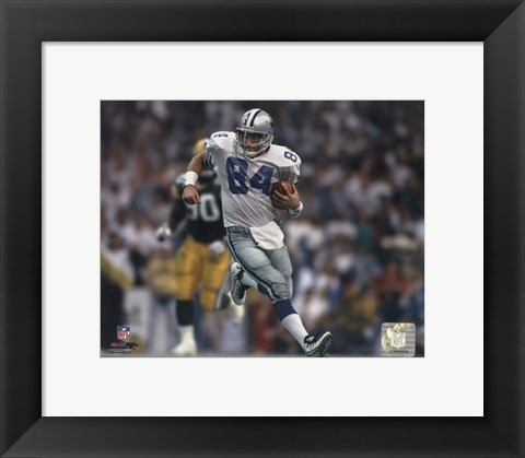 Framed Jay Novacek action Print