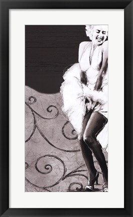 Framed Backtracking Marilyn Print