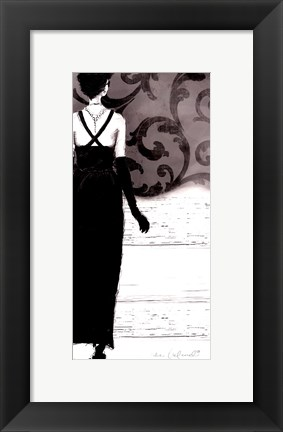 Framed Backtracking Audrey Print