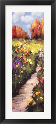 Framed Path Beneath Your Feet Print