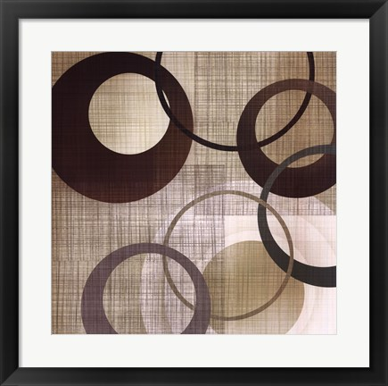 Framed Abstract & Natural Elements Print