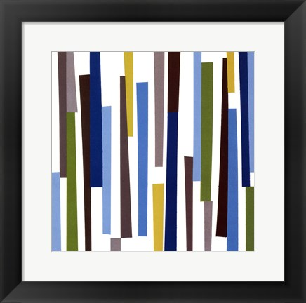 Framed Pick-up Sticks Print