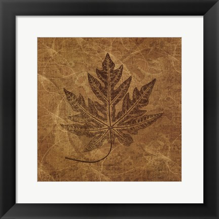 Framed Leaves of Summer Print