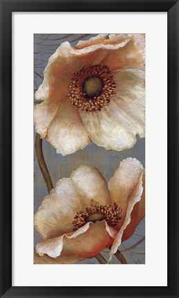 Framed Windflower II Print