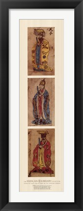 Framed Magni Catay, (The Vatican Collection) Print