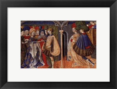 Framed Wedding Ceremony, (The Vatican Collection) Print