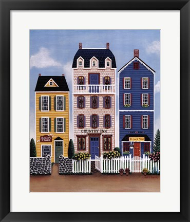Framed Country Stores Print