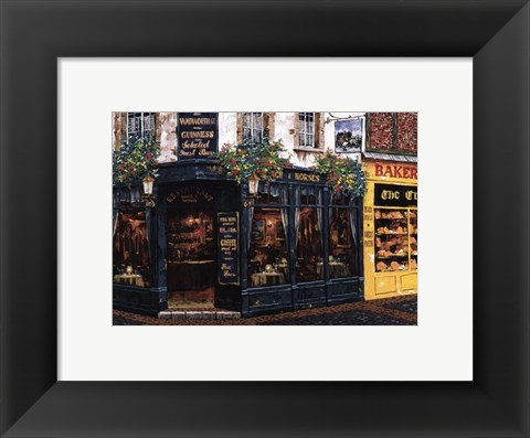 Framed London Pub Print