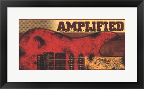 Framed Amplified Print