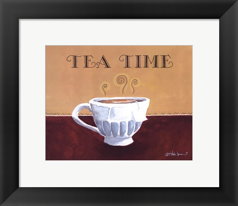Framed Tea Time Print