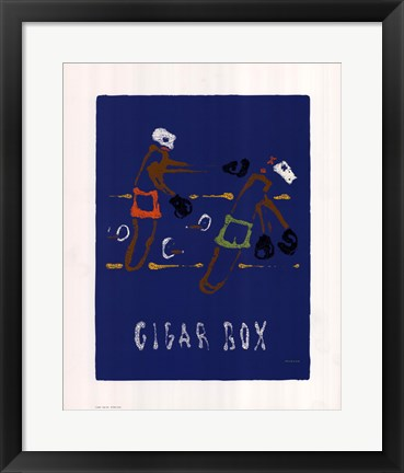 Framed Cigar Box Print