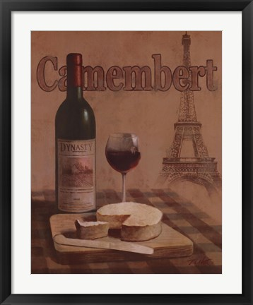 Framed Camembert Print