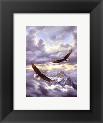 Framed Spirits Of The Wind Print