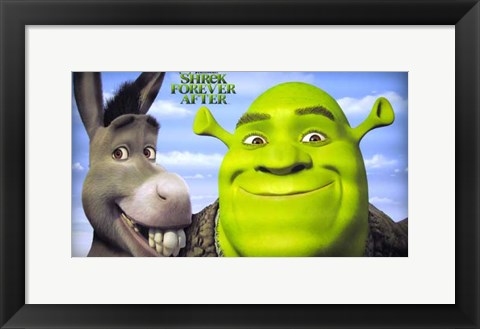 Framed Shrek Forever After - style A Print
