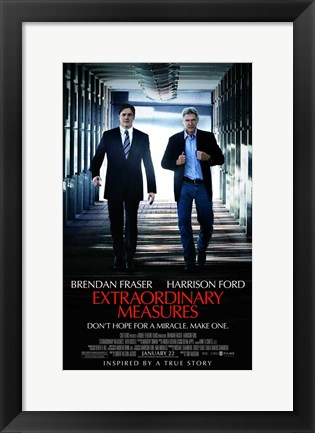 Framed Extraordinary Measures - style B Print