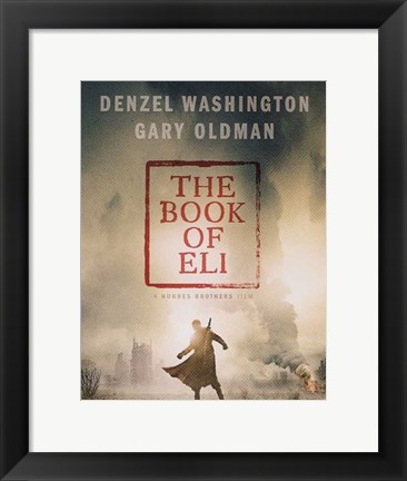 Framed Book of Eli - style D Print
