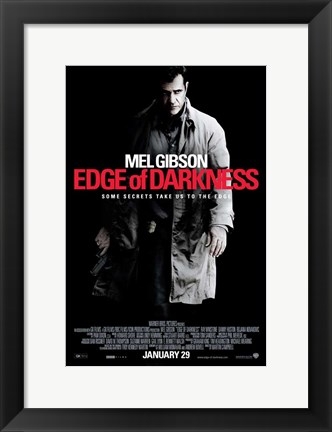 Framed Edge of Darkness - style A Print
