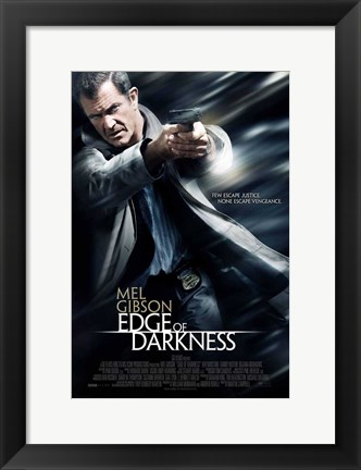 Framed Edge of Darkness - style B Print