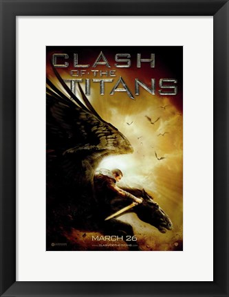 Framed Clash of the Titans, c.2010 - style C Print