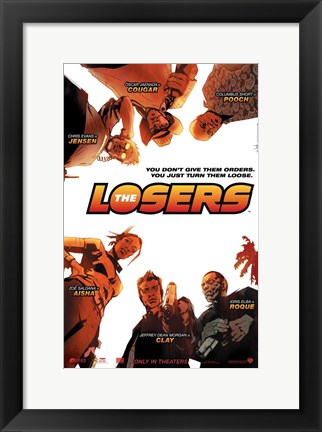 Framed Losers - style A Print