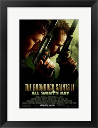 Framed Boondock Saints II: All Saints Day Print