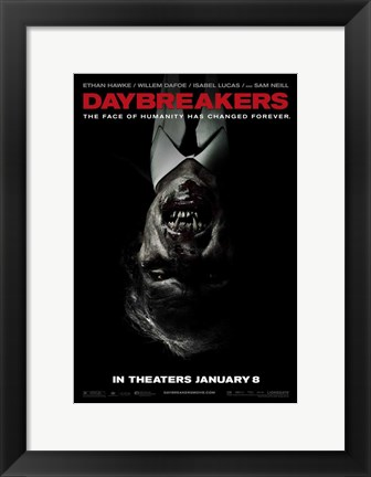 Framed Daybreakers - style C Print