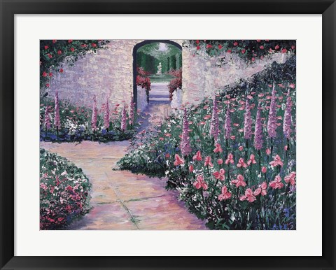 Framed Beyond the Arch Print