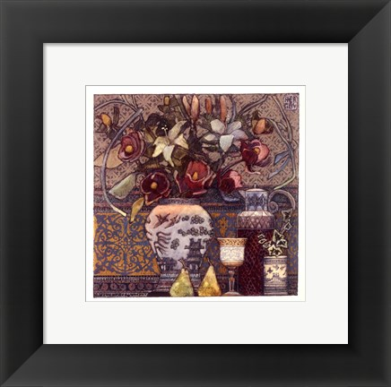 Framed Anne Bagby - New Years Eve Print