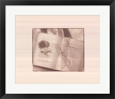 Framed Book of Memories Print