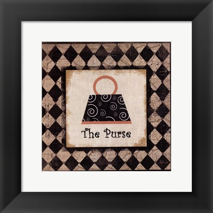 Framed Purse Print