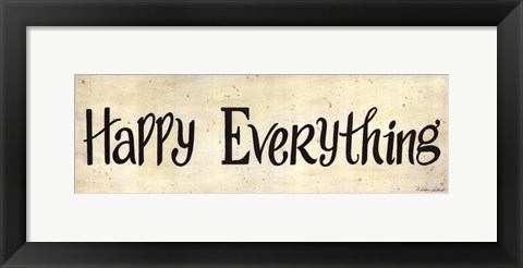 Framed Happy Everything Print