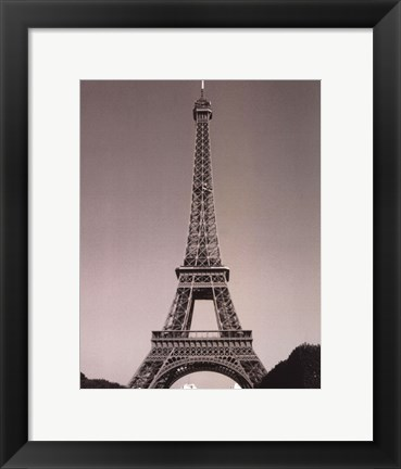Framed Eiffle Tower I Print