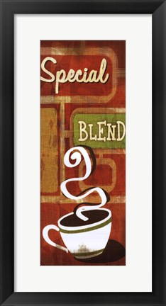 Framed Retro Coffee IV Print