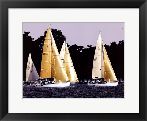 Framed Race at Annapolis II Print