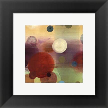 Framed Circle Dreams II - petite Print