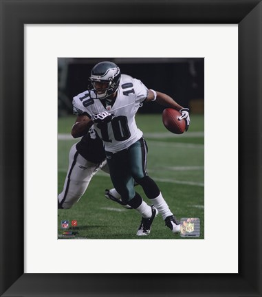 Framed DeSean Jackson 2009 Action Print