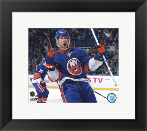 Framed Josh Bailey 2009-10 Action Print