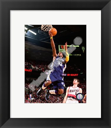 Framed O.J. Mayo 2009-10 Action Print