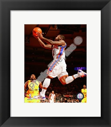 Framed Nate Robinson 2009-10 Action Print
