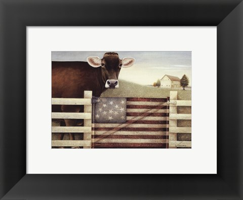 Framed Proud Gate Print