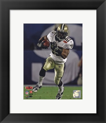 Framed Reggie Bush Super Bowl XLIV Action (#17) Print