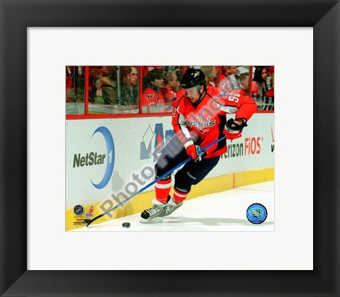 Framed Mike Green 2009-10 Action Print