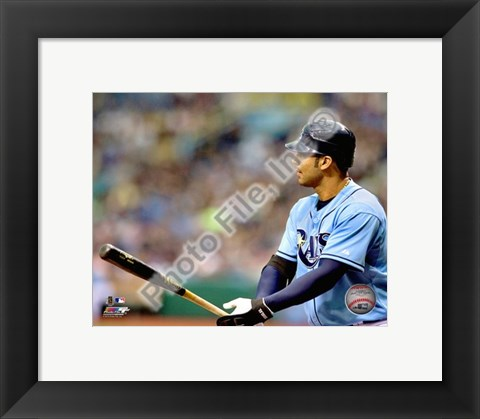 Framed Carlos Pena 2010 Action Print