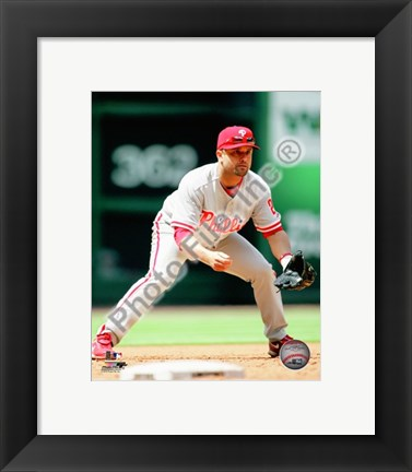 Framed Placido Polanco 2010 Action Print